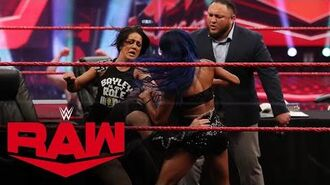 Double contract signing turns chaotic- Raw, June 29, 2020