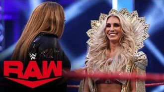 Charlotte Flair and Nia Jax brawl- Raw, June 22, 2020