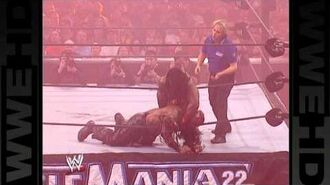 Booker T clashes with Boogeyman at WrestleMania 22