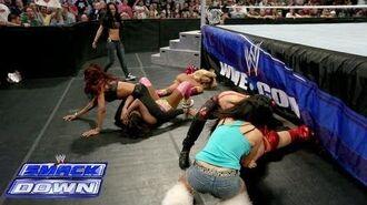 Naomi vs. Brie Bella- WWE SmackDown, Sept