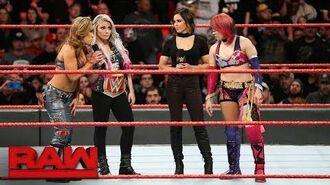 "Alexa Bliss ""applauds"" Asuka's WrestleMania decision- Raw, March 12, 2018"