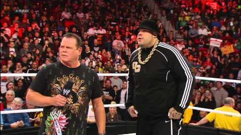 Brodus Clay vs. Tensai - Raw Roulette Dance-Off Raw, Jan