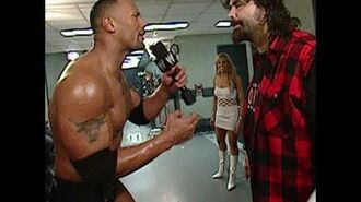 WrestleMania XX The Rock makes his rounds at Madison