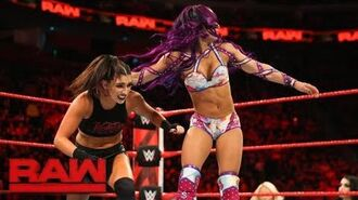 Sasha Banks vs. Sonya Deville- Raw, March 12, 2018