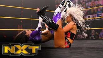 Toni Storm returns to in-ring action against Aliyah- WWE NXT, Oct. 14, 2020