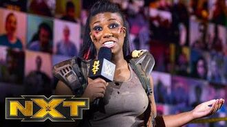 Ember Moon makes her intentions clear- WWE NXT, Oct. 7, 2020