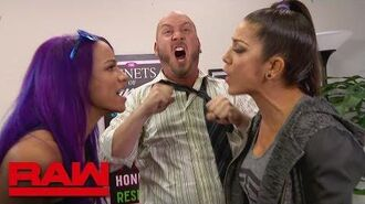 Bayley and Sasha Banks try some role reversal during counseling- Raw, July 2, 2018