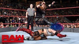 Asuka vs. Nia Jax- Raw, March 5, 2018