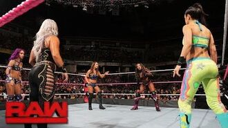 Fatal 5-Way Match - Winner Faces Asuka at WWE TLC- Raw, Oct. 9, 2017