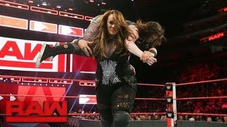 Nia Jax goes on a rampage following Alexa Bliss' insults- Raw, March 12, 2018
