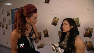 Melina sees potential problem for Maria