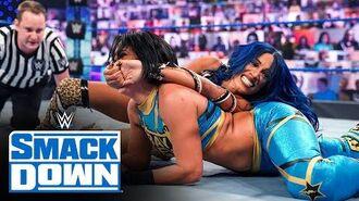 Bayley vs. Sasha Banks – SmackDown Women's Championship Match- SmackDown, Oct. 9, 2020