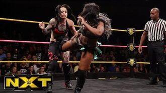 Ember Moon vs. Ruby Riot vs. Sonya Deville - NXT Women's Title Qualifier- WWE NXT, Oct. 18, 2017