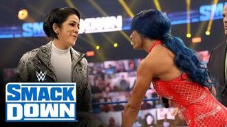 Bayley backs away from contract signing with Sasha Banks- SmackDown, Oct. 16, 2020
