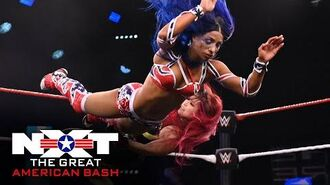 NXT Women's Champion Shirai vs. Banks – Non-Title Match- NXT Great American Bash, July 1, 2020