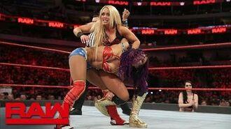 Sasha Banks & Bayley vs. Mandy Rose & Sonya Deville- Raw, March 19, 2018