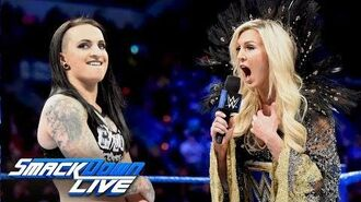 Charlotte Flair and Ruby Riott come face to face before WWE Fastlane- SmackDown LIVE, March 6, 2018