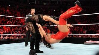 Raw- Kelly Kelly & Aksana vs