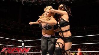 Natalya vs. Naomi vs. Brie Bella - Triple Threat No. 1 Contender's Match- Raw, Sept