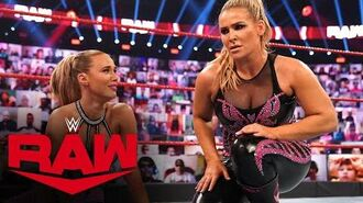 Natalya dumps Lana after loss to Mandy Rose & Dana Brooke- Raw, Oct. 12, 2020