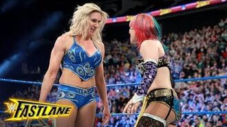 Asuka comes face-to-face with Charlotte Flair- WWE Fastlane 2018 (WWE Network Exclusive)