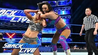 Charlotte Flair vs. Peyton Royce - Money in the Bank Qualifying Match- SmackDown LIVE, May 8, 2018