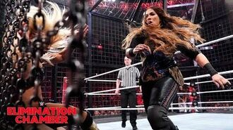 Six teams fight tooth-and-nail to make women's tag team history- WWE Elimination Chamber 2019