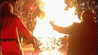 Kane burns The Undertaker Royal Rumble 1998