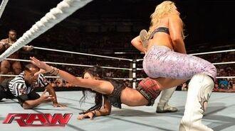 The Great Khali & Natalya vs