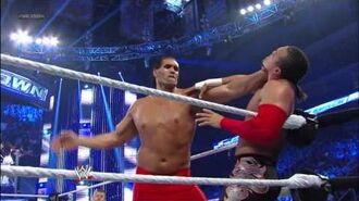 The Great Khali, Hornswoggle & Natalya vs