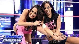 Brie Bella vs. AJ Lee- SmackDown, Oct. 18, 2013