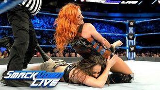 Becky Lynch & Naomi vs. Liv Morgan & Sarah Logan- SmackDown LIVE, March 20, 2018