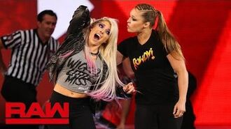 Ronda Rousey violates suspension to brutalize Alexa Bliss- Raw, July 16, 2018