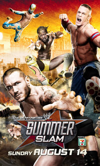 SummerSlam 2011 poster