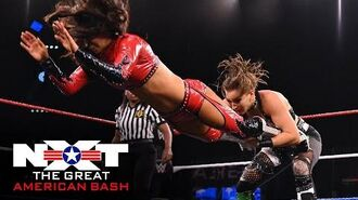 Rhea Ripley vs. Aliyah & Robert Stone – Handicap Match- NXT Great American Bash, July 1, 2020