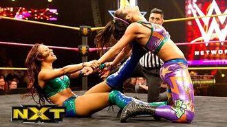Bayley vs. Sasha Banks- WWE NXT, Oct. 23, 2014