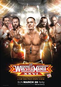 WrestleMania XXVI poster