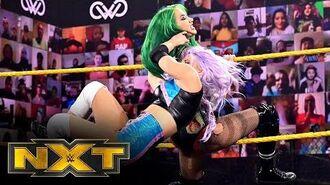 Shotzi Blackheart vs. Candice LeRae – NXT Women's Title No. 1 Contender's Match