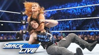 Nikki Cross vs. Becky Lynch- SmackDown LIVE, Nov. 6, 2018