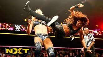 Carmella makes her NXT debut- WWE NXT, Oct. 16, 2014