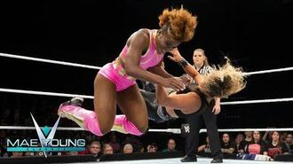 MJ Jenkins vs. Rhea Ripley - First-Round Match- Mae Young Classic, Sept. 5, 2018