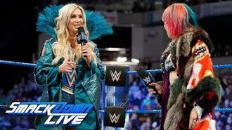 Asuka explains why she chose to face Charlotte Flair at WrestleMania- SmackDown LIVE, March 13, 2018