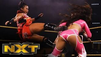 Xia Li vs. Aliyah- WWE NXT, June 17, 2020