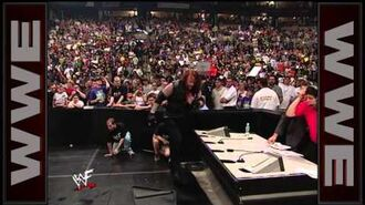 Triple H, Mr. McMahon & Shane McMahon vs