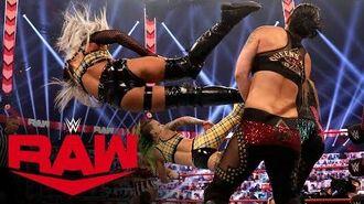 Rose & Brooke vs. Riott Squad vs. Evans & Royce vs. Baszler & Jax- Raw, Oct. 19, 2020
