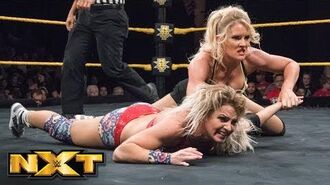 Candice LeRae vs. Lacey Evans- WWE NXT, June 27, 2018
