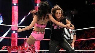 Brie Bella vs. Tamina Snuka- Raw, Oct. 14, 2013