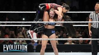Ronda Rousey retains the Raw Women's Championship- WWE Evolution 2018 (WWE Network Exclusive)