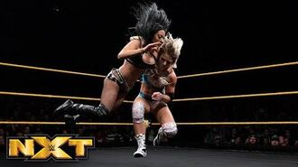 Candice LeRae vs. Zelina Vega- WWE NXT, April 18, 2018