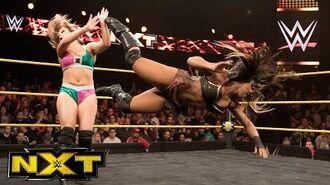 Ember Moon vs. Kimber Lee- WWE NXT, Dec. 7, 2016